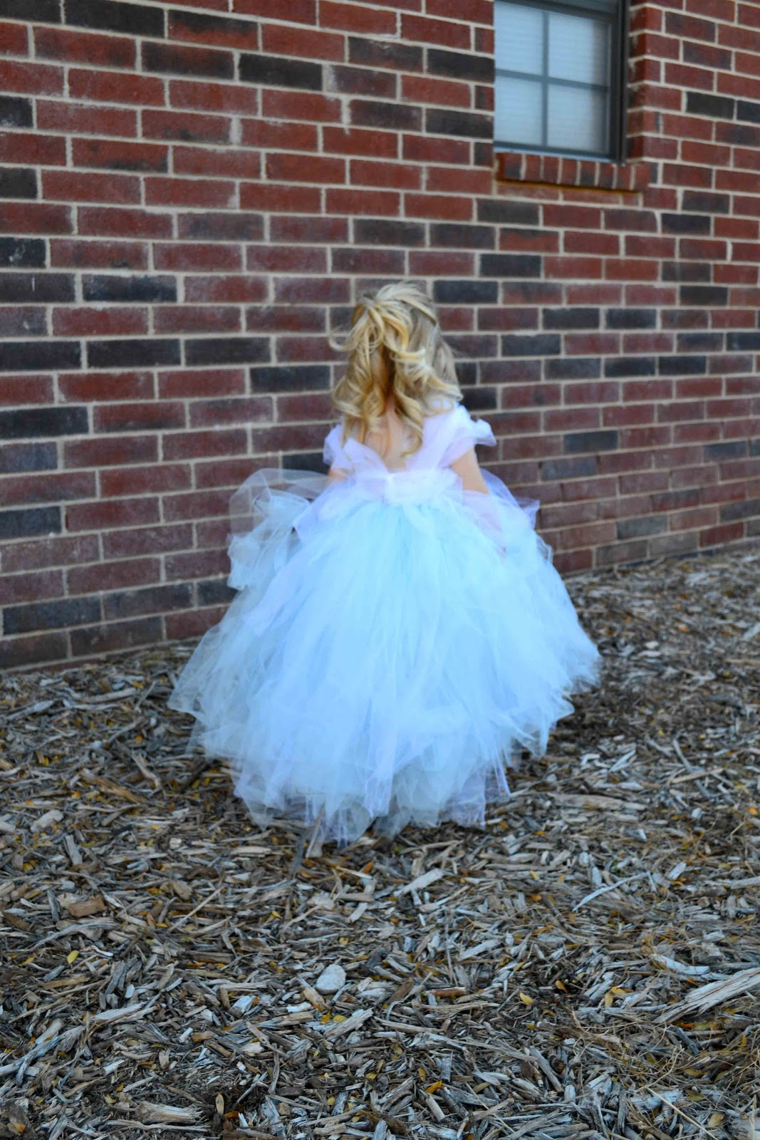Babblings And More No Sew Tulle Cinderella Dress