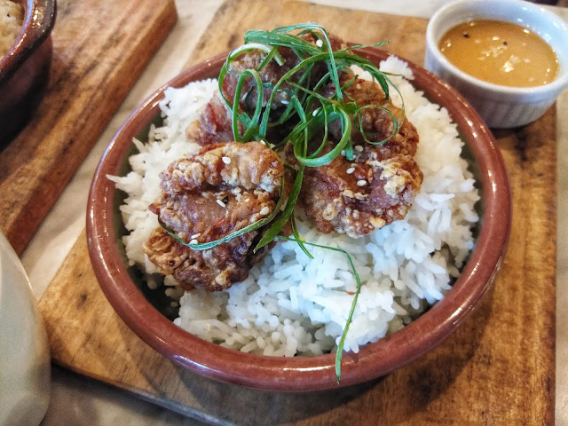 Chicken Karaage Rice