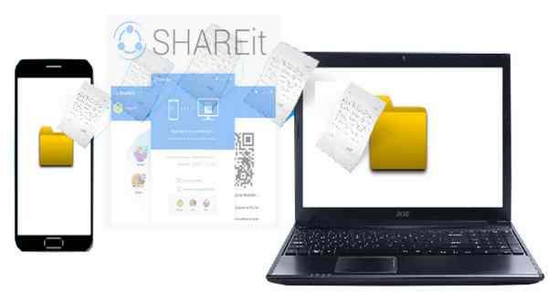 Mengirim File dengan SHAREit dari HP ke Laptop via Jaringan WiFi