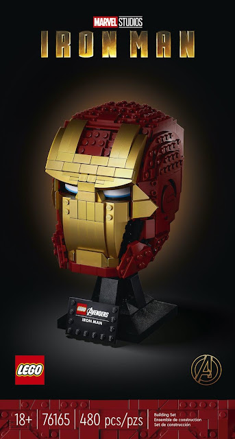 LEGO 76165 Iron Man Helmet, Marvel, Marvel Studios, 樂高, 鐵甲奇俠