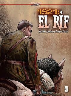 """""""1921: EL RIF"""". Comic Reseña de Bellumartis Historia Militar"""