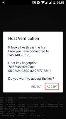 Cara Menggunakan JuiceSSH untuk Melakukan Koneksi SSH ke VPS