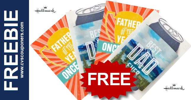 FREE Father's Day Hallmark Cards at CVS  6-9-6-15