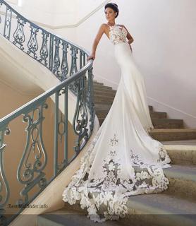 Backless Wedding Gown Mermaid Wedding Dress