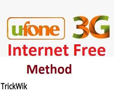 Ufone Free Internet On Uc Handler [2019] - TricksWik