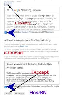 google analityces একাউন্ট তৈরি