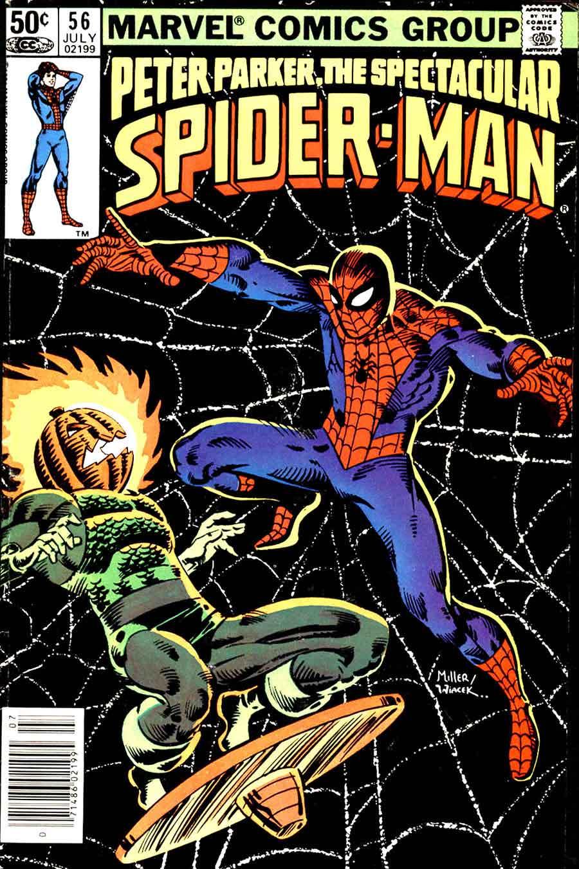 Spectacular Spider-man v2 #56 - Frank Miller cover ...