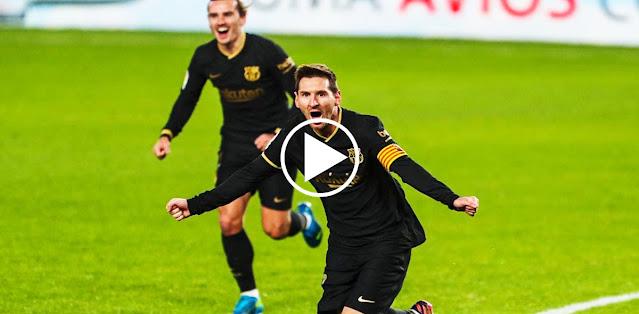 Lionel Messi vs Granada