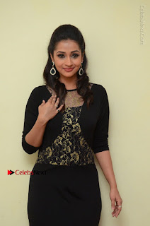 Telugu Actress Manasa Manohar Stills in Black Long Dress at Naku Nene Thopu Turumu Trailer Launch  0017.JPG