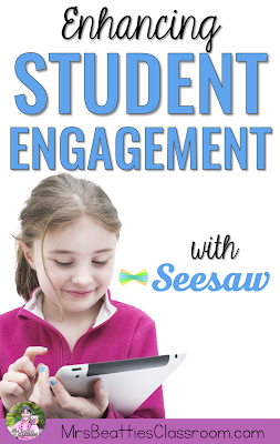 The free Seesaw app is an easy solution for student portfolios and sharing classroom work with parents! If you are a classroom teacher, you will want to read this post, full of ideas for how your students can use this great digital resource on an iPad or other device!