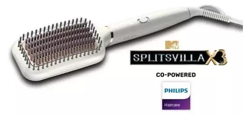 What is the main benefit provided by Silkpro care in Philips Hair Straighteners?