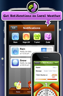 Apple iPhone Weather Apps: Outside