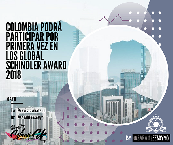 Colombia-Global-Schindler-Award-2018