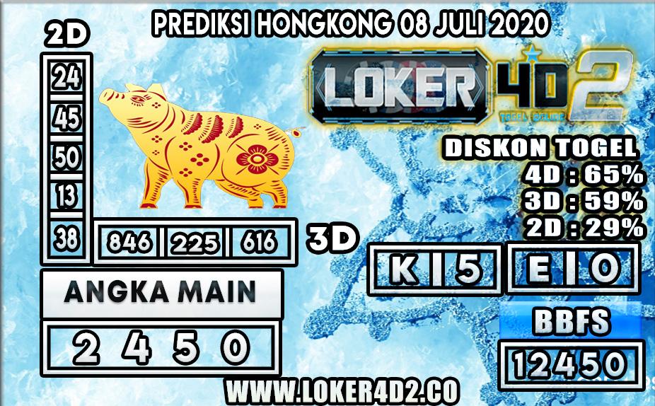 PREDIKSI TOGEL HONGKONG LOKER4D2 08 JULI 2020
