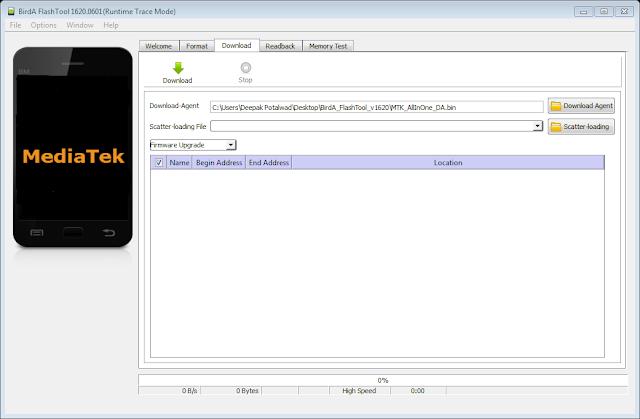 BirdA Flash Tool V16.20