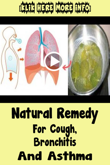 Natural Remedy For Cough, Bronchitis