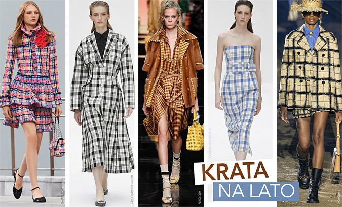 modne wzory wiosna lato 2020