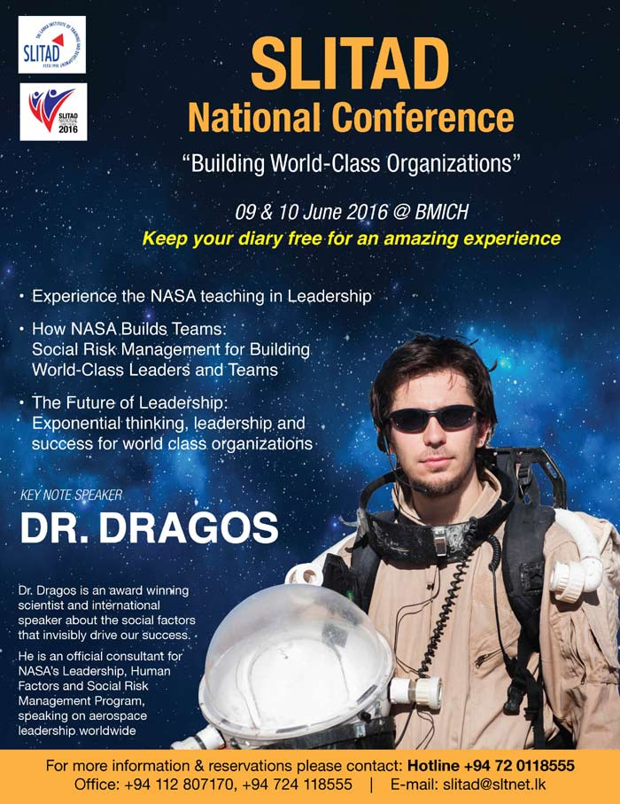 Dr. Drago is an award winning scientist and international speaker about the social factors that invisibly drive our success.  He is an official consultant for NASA's Leadership, Human Factors and Social Risk Management Program, speaking on aerospace leadership worldwide.