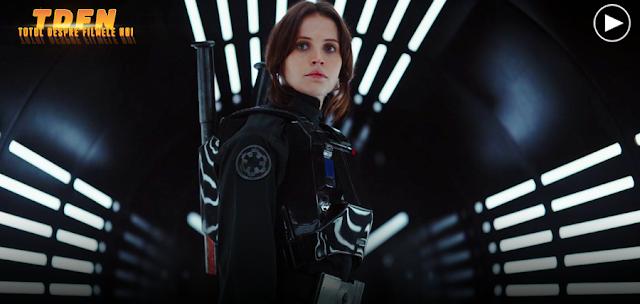 Primul trailer pentru filmul spinoff Rogue One: A Star Wars Story