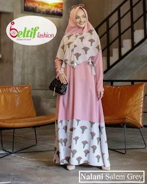 Gamis Syari Modis Murah Nalani By Beltif Fashion
