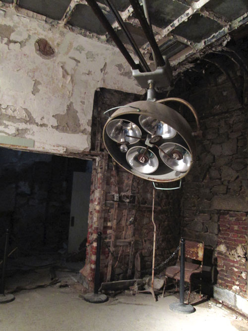 Eastern State Penitentiary: operating room