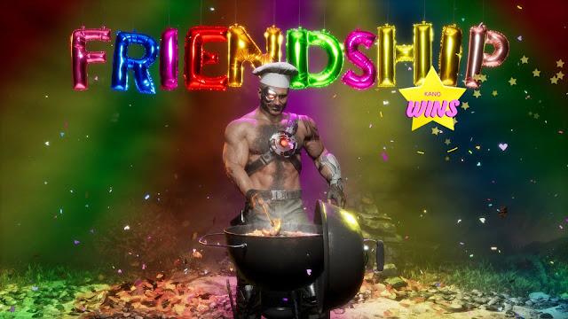 Análisis de Mortal Kombat 11 Ultimate - Friendships