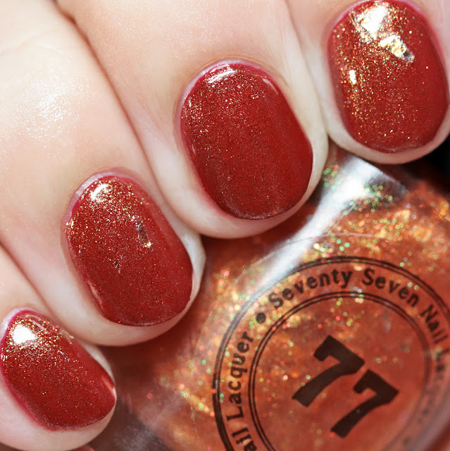 Seventy-Seven Nail Lacquer Equinox over Apple-y Ever After