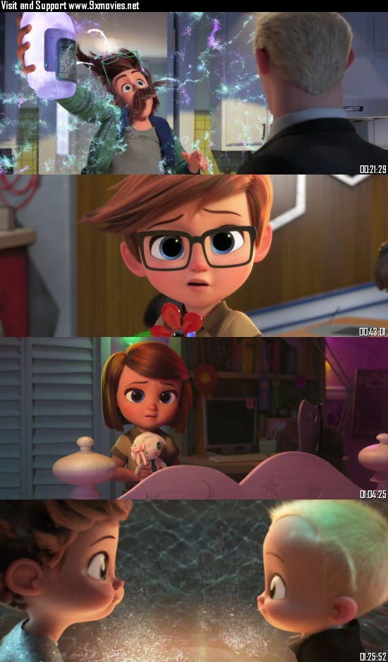 The Boss Baby Family Business 2021 English 720p WEB-DL 800MB ESubs