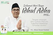 Lalu Aksar Ansori Faishal Mengucapkan Selamat Idul Adha 1441 H