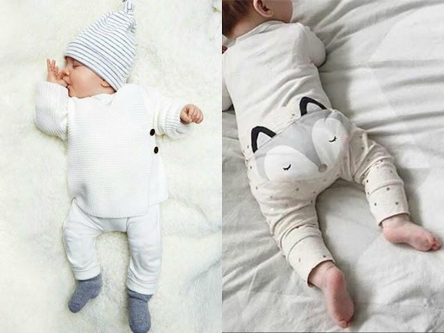 neonati con body e cappellino