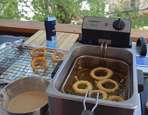 We have used this Cuisinart deep fryer for years and love it.