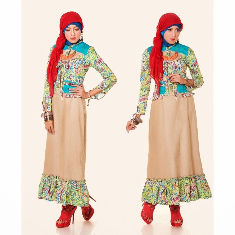 71 Model Baju Batik Kombinasi Polos Brokat 2019 Daniar Personal Blog