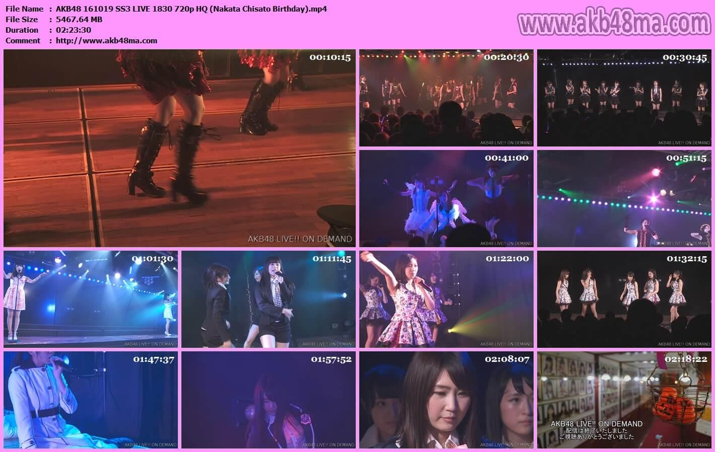 【公演配信】161019 AKB48 田原総一朗「ド~なる?!ド~する?! AKB48」公演