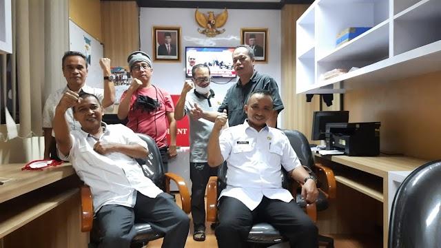 Tingkatkan Kinerja Awak Media, Setwan Jabar  Renovasi Ruang Wartawan DPRD Jabar
