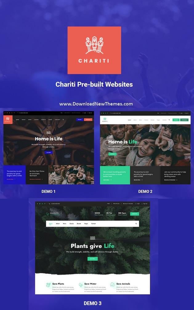 Chariti - Charity & Donation HTML Template