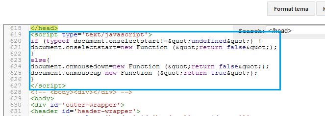 Memasang script anti copy paste tentunya memiliki manfaat Cara Memasang Script Anti Copy Paste di Blog