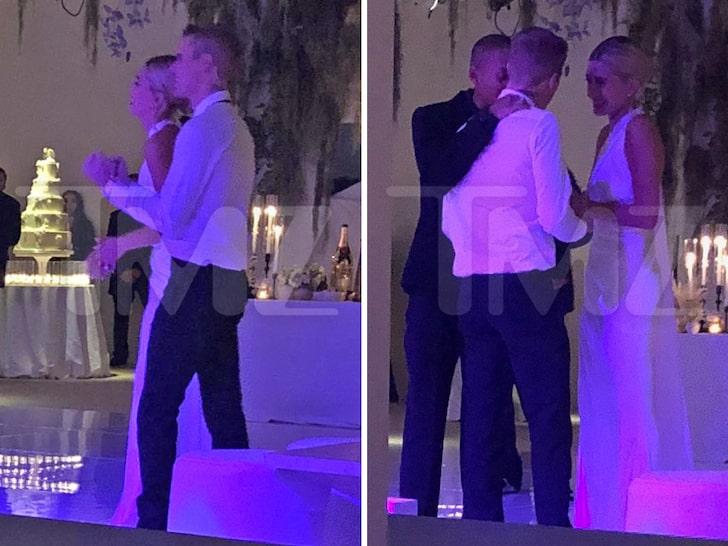 Hailey Bieber Posts Wedding Day Photos in Her Bridal Gown (Photos)