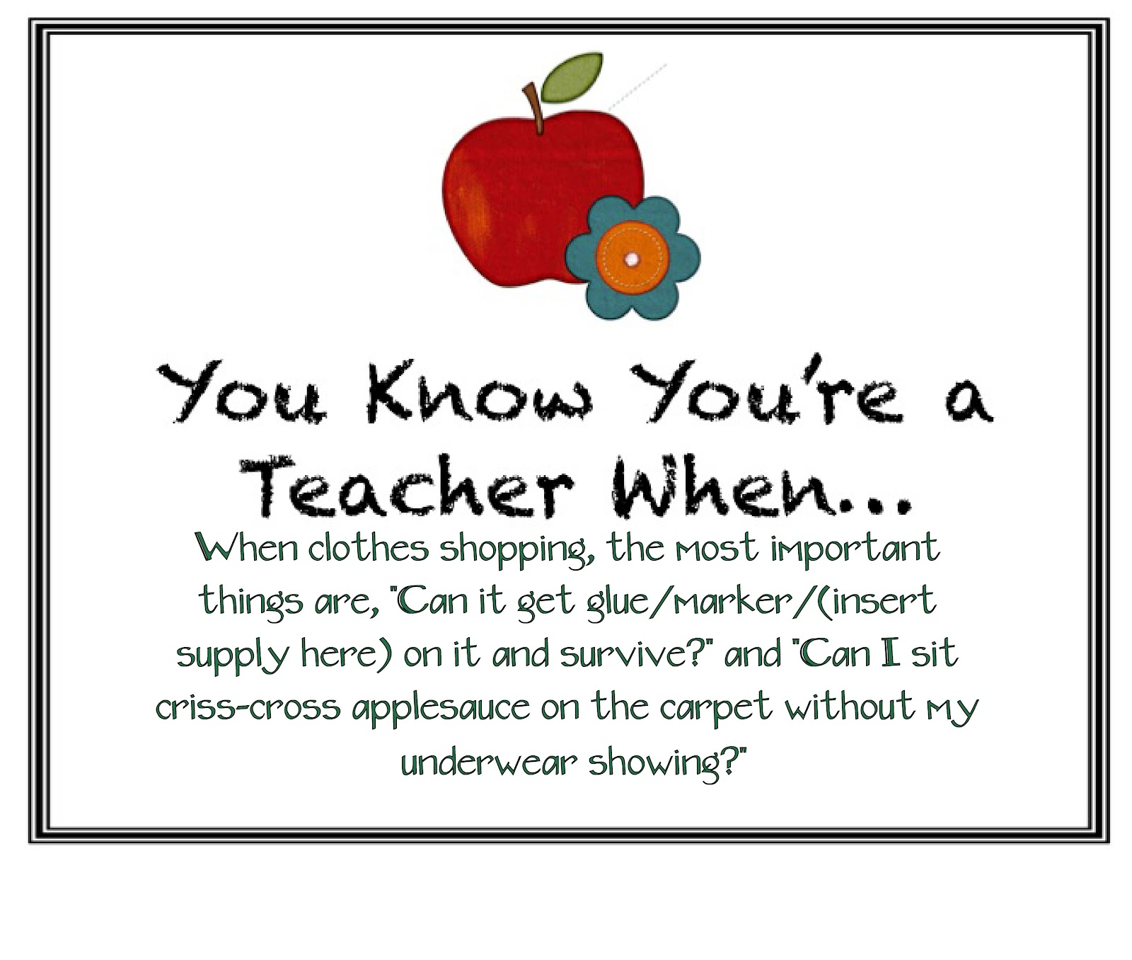 It S Grow Time You Know You Re A Teacher When