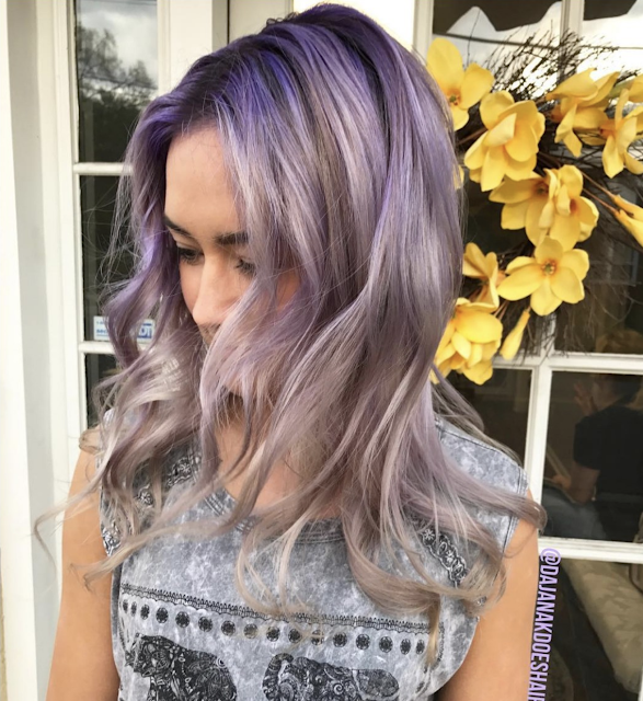 purple hair color ideas 2020