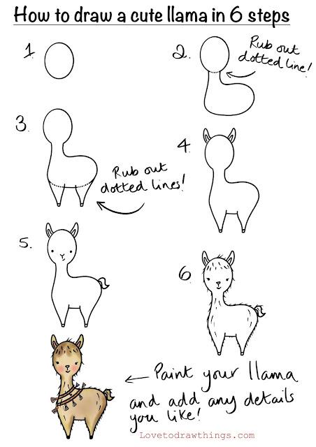 Draw a llama