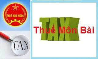 Thuế môn bài là gì ?