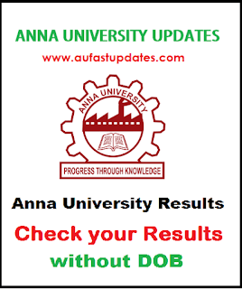 Anna university Results without DOB [Date Of Birth] 2018