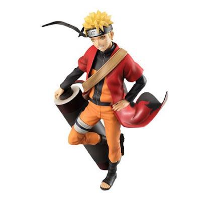 "G.E.M. de Uzumaki Naruto de ""Naruto Shippuden"" - MegaHouse"
