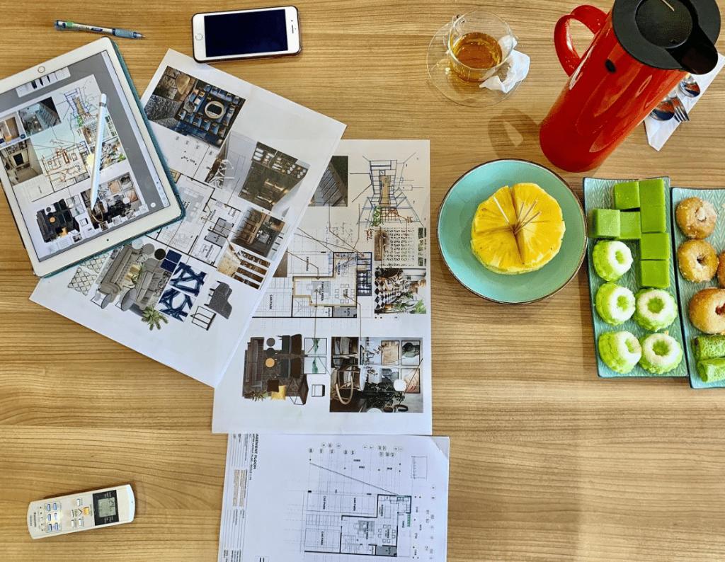 Perkhidmatan Pakej Rekabentuk Mewah Dan Moden Ruangan Dalam Rumah Impian Bajet Rendah Dengan Design Collection IDW