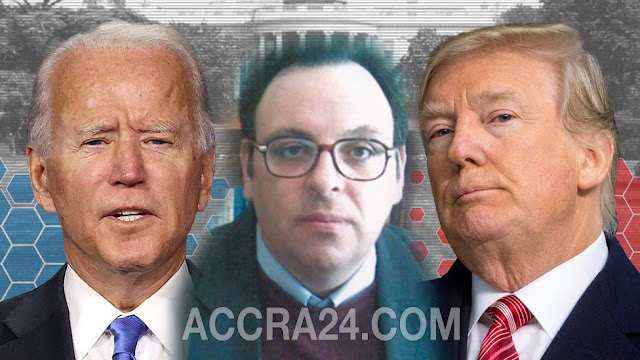 Joe Biden(L), Karderinis Isidoros(M) And Donald Trump(R)
