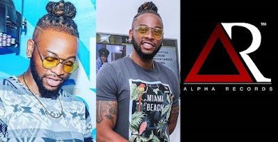 #BBNaija: Teddy A launches record label; Alpha Records