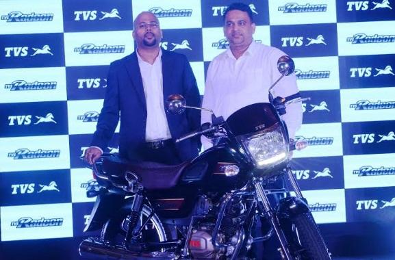 TVS Motors launchesTVS Radeon Commuter of the Year celebratory special edition
