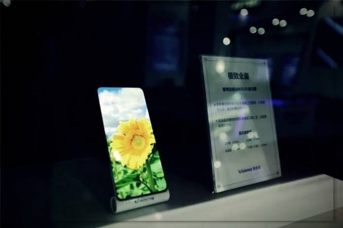 Showing mobile displays of the future