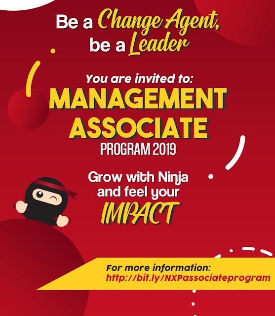 Lowongan Kerja Ninja Xpress Management Associate Program 2019