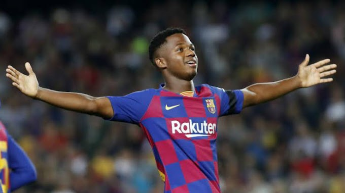 Barcelona youngstar Ansu Fati earns his 1st senior call-up for Spain